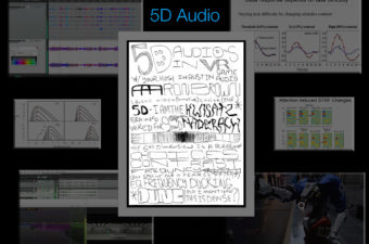 5D audio in VR – Enhance VR experiences using higher dimensions of sound